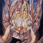 Joie pour tout amour dans les mains de Dieu, la très Sainte Trinité