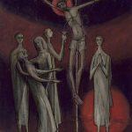 Sacrifice de la Croix en grisaille