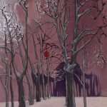 Allée d'arbres à Bourguillon