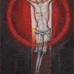 Le Christ à Stonehenge à l'aube du solstice d'été