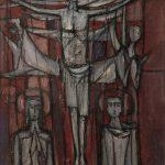 Crucifixion hiératique (en)
