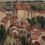 Fribourg vu des Grand'Places