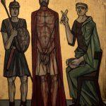 Chemin de Croix du Christ-Roi, Station 01, Jésus est condamné à mort