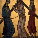 Chemin de Croix du Christ-Roi, Station 04, Jésus rencontre sa mère
