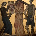 Chemin de Croix du Christ-Roi, Station 06, Véronique essuie le visage de Jésus