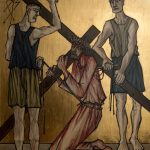 Chemin de Croix du Christ-Roi, Station 07, Jésus tombe pour la deuxième fois