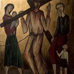 Chemin de Croix du Christ-Roi, Station 08, Jésus  console les femmes de Jérusalem