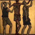 Chemin de Croix du Christ-Roi, Station 11, Jésus est crucifié