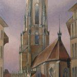 La Cathédrale, de la rue des Bouchers