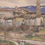 La Ville vue du Palatinat à l'arrivée du printemps