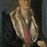 L'homme aux gants, autoportrait