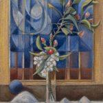 Bouquet de branche de poirier et image de printemps