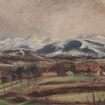 Paysage fribourgeois (vue depuis la Vignettaz)