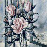 Bouquet de roses clair