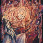 «En forme de vitrail», l'incarnation