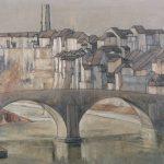 Fribourg et le Pont du Milieu