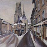 La rue des Bouchers et la Cathédrale