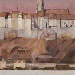 Des hauts de Montorge, une partie de la Basse-Ville, de la Grand'Rue et la Cathédrale