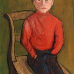 Portrait de César Antognini, enfant