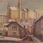 La Neuveville, la Providence, et la Grand'Rue surmontée de la Cathédrale