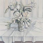 Bouquet à dominante blanche
