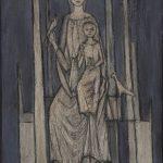 Vierge et enfant aux oiseaux