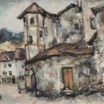 Sans titre (Fribourg, Place du Petit-St-Jean)