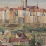 Printemps sur la Planche, St-Jean, les Grandes Rames et les falaises de la Grand'Rue et la Cathédrale