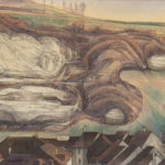 La fin des falaises de Lorette et les toits de l'Auge et de la Lenda
